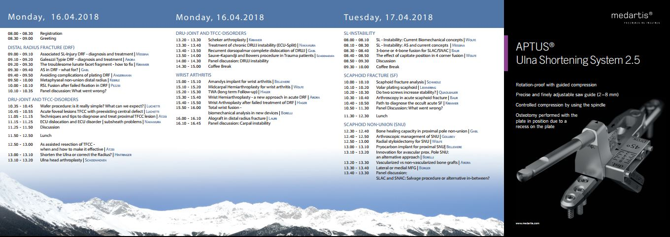 preliminary program 12th wrist symposium april 2017